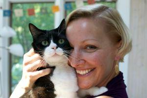 Joey cat and Katrina