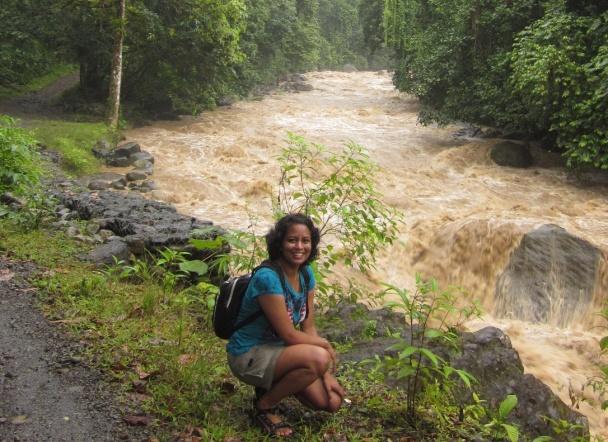 Author near Manuel Antonio, Costa Rica 2010