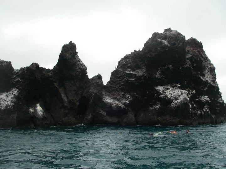 Devil's crown, Floreana, Galapagos Islands
