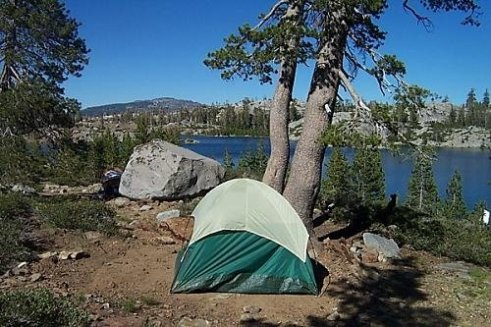 Camping in Tahoe National Forest