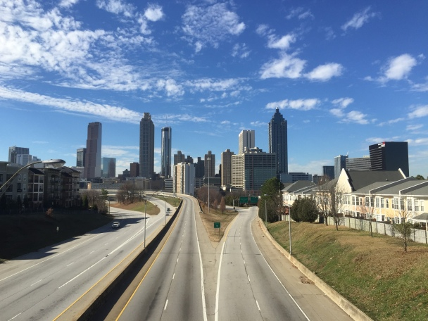 Atlanta Skyline from Jackson Street Bridge