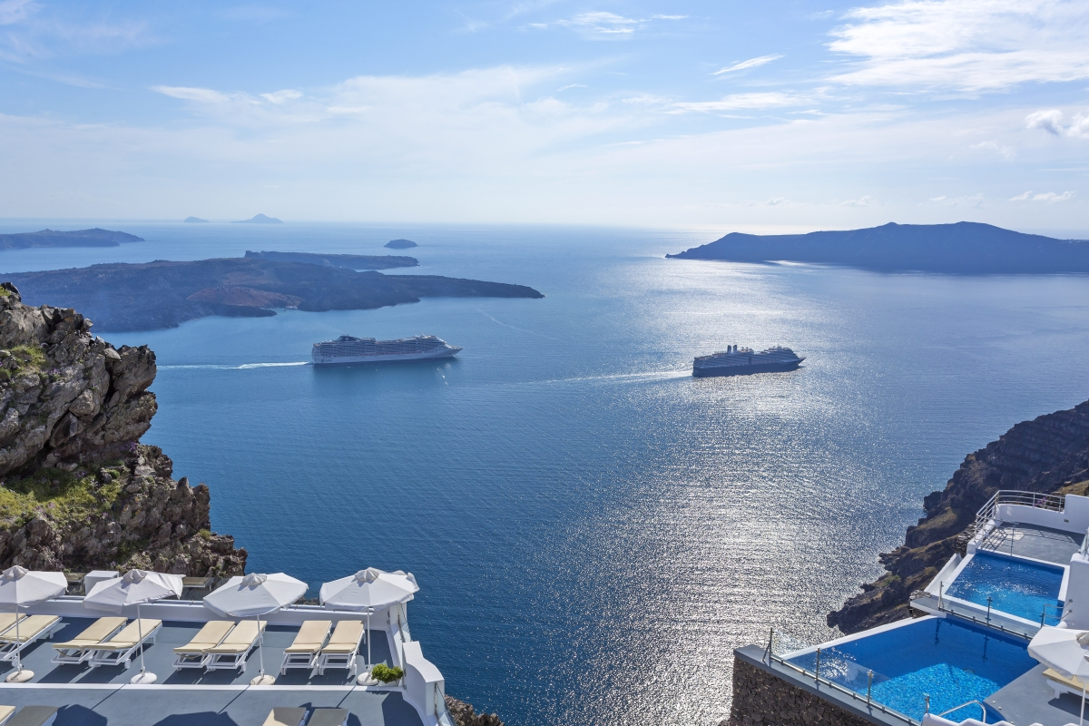 Love in Imerovigli, Santorini's Hidden Gem (NY Resident)