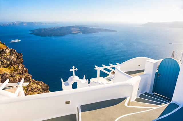 Imerovigli-Greece